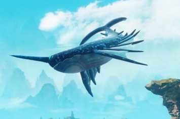 飞鲸真的存在吗,是一种飞在天上的鲸鱼(外星鲸鱼)
