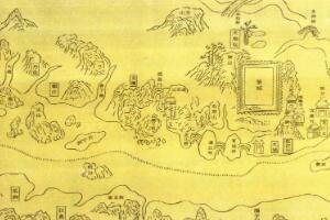 世界上存在最早的航海图集,郑和航海图(成图于15世纪中叶前)