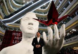 世界上最大规模的纸鹤展,张国荣纪念展集齐190多万只纸鹤