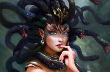 你知道的妖怪中最悲惨是哪一个,难逃命运捉弄的美杜莎