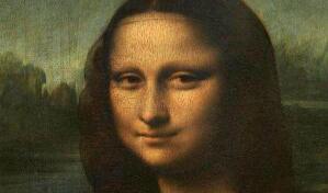 蒙娜丽莎放大后的秘密,蒙娜丽莎其实是有眉毛的