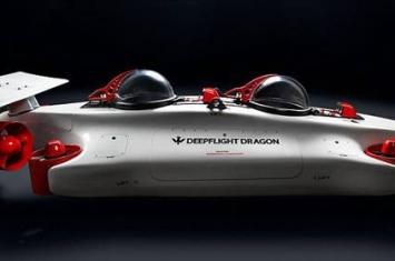 """潜艇制造商DeepFlight发布最新款私人潜艇""""枭龙"""" 售价150万美元几乎不会沉没"""