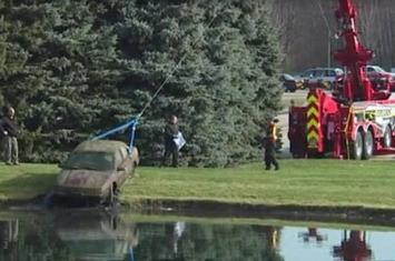 美国肯特县湖泊中找到失踪9年的老翁 谷歌地图实际早就拍到