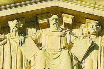 被美国最高法院刻在门楣上中国人是谁?这个人让中国领先世界2000年