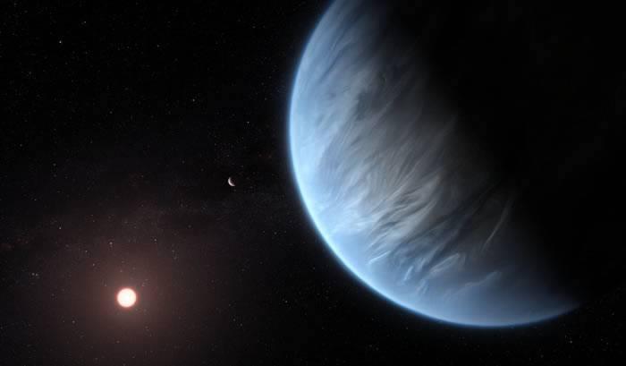 天文学家首发现大气含水系外行星K2-18b