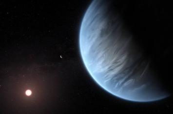 适居带系外行星K2-18b大气层中发现水