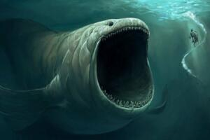超千米巨型海怪或真实存在,1997年海底超巨型生物的声音曝光