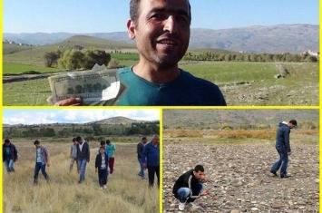 火流星划过土耳其小村庄上空爆炸 村民拾陨石碎片变卖致富